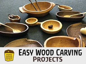 Easy wood carving projects ○ homewoodspirit